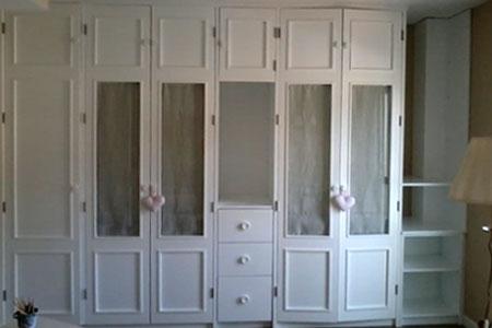Pinturas artcolor lacado armario blanco for Armario blanco lacado