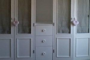 lacado armario blanco